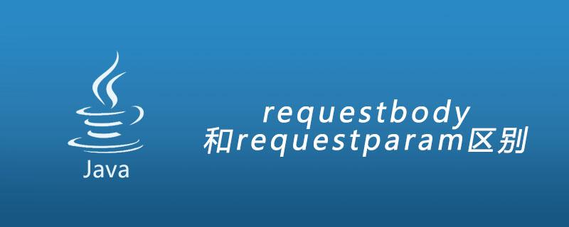 requestbody和requestparam區別