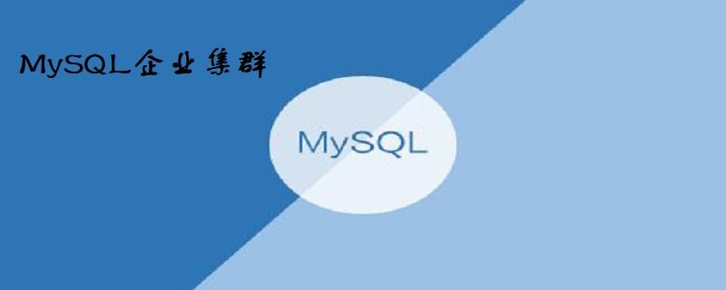 大公司mysql集群用什么