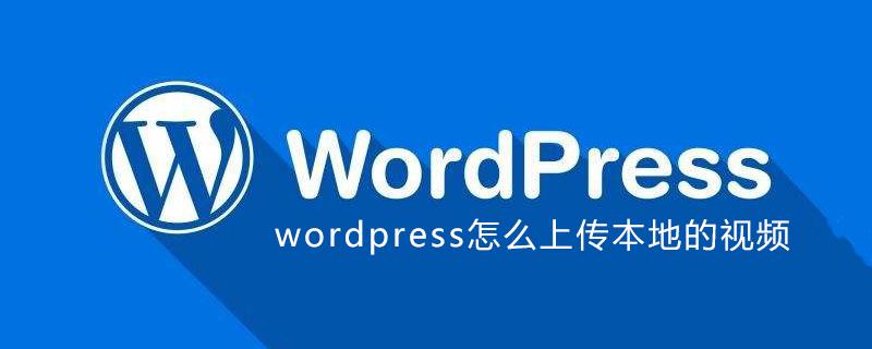 wordpress怎么上传本地的视频_wordpress教程