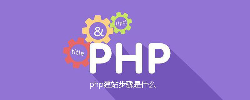 php建站步骤是什么