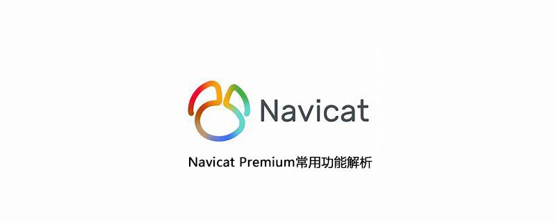 Navicat Premium常用功能解析