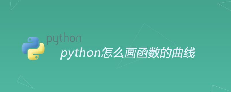 python怎么畫函數的曲線