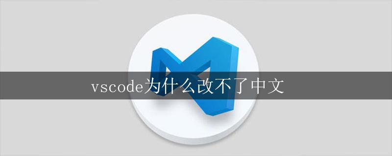 vscode为什么改不了中文