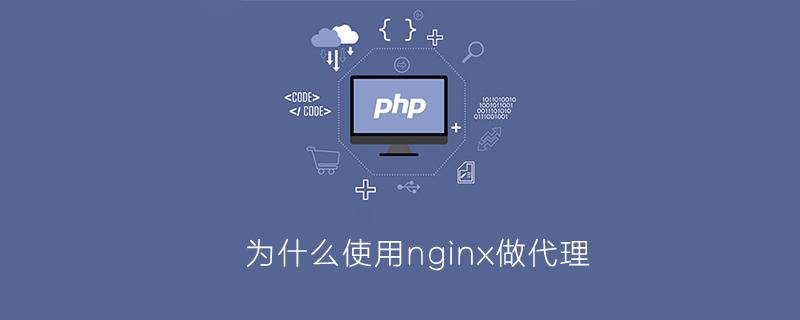 php为什么要用nginx做代理