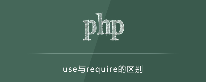 php的use和require的区别