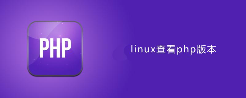 linux如何查看php版本