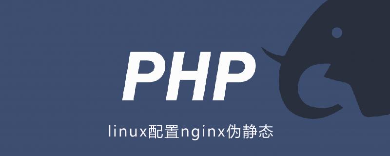 linux配置nginx偽靜態