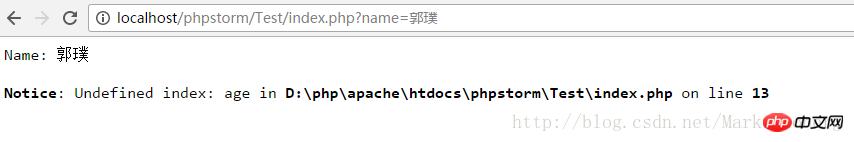 使用php动态方式
