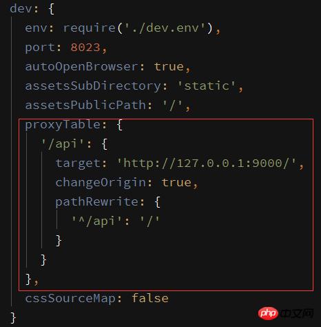 详解Vue-cli如何实现跨域请求