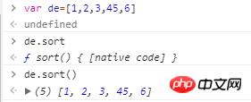 js中数组常用的方法
