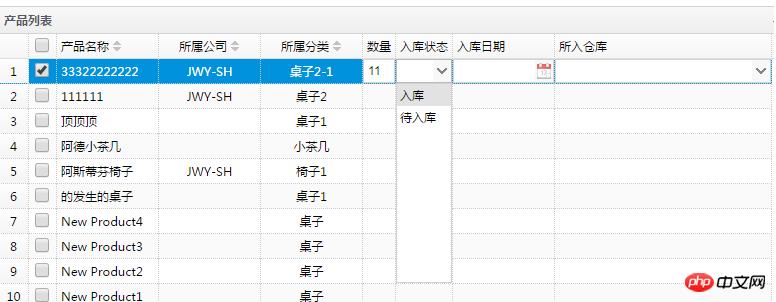 EasyUi控件中的Datagrid详解