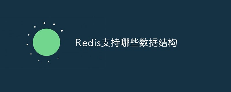 Redis支持哪些数据结构