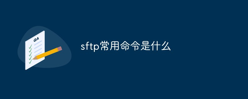 sftp常用命令是什么