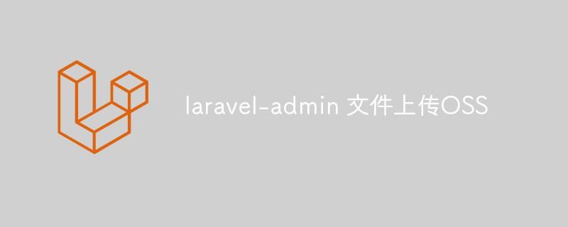 关于 laravel-admin 文件上传OSS