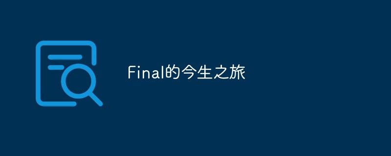 Final的今生之旅