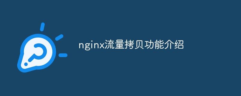 nginx流量拷贝功能介绍