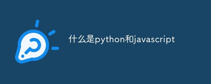 什么是python和javascript