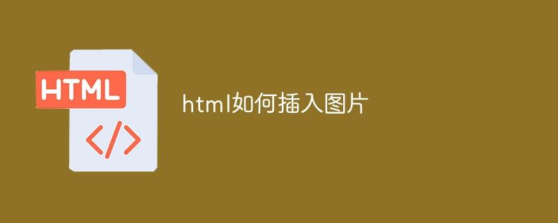 html如何插入图片