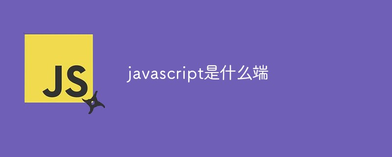 javascript是什么端