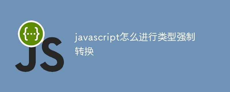 javascript怎么进行类型强制转换