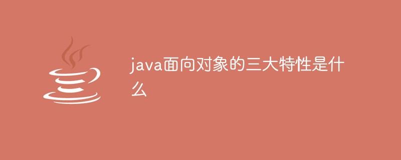 java面向对象的三大特性是什么