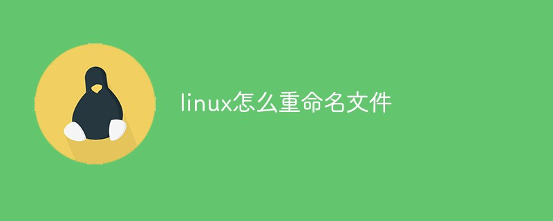 linux怎么重命名文件