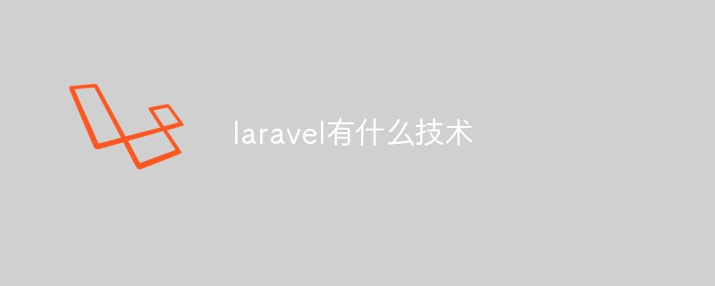 laravel有什么技术