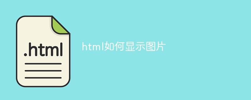 html如何显示图片