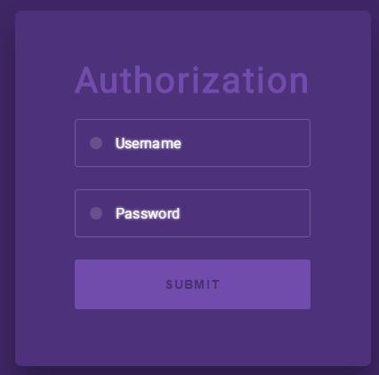 HTML5载入登录表单代码