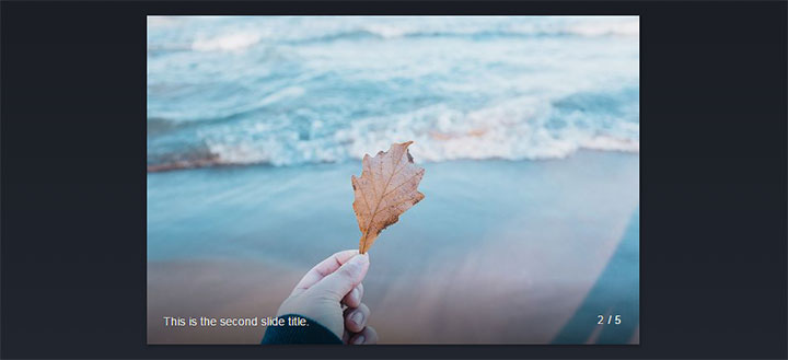 CSS3点击图片切换下一张焦点图展示特效