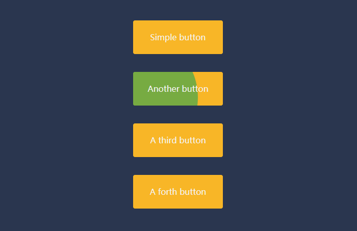 jQuery+css3感知方向悬停按钮动画特效