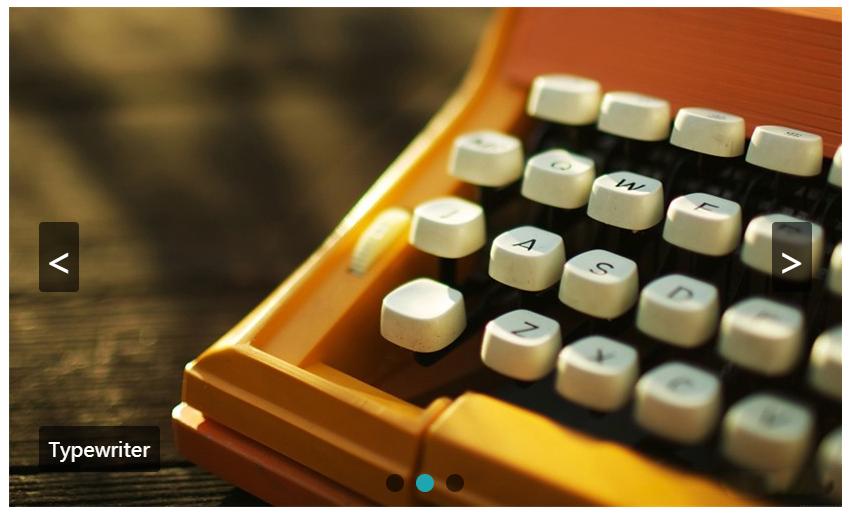 纯css3带按钮控制图片轮播幻灯片代码
