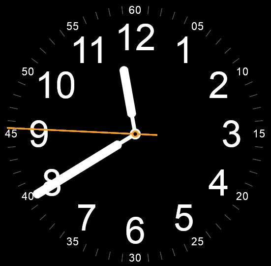 js css3时钟制作圆形时钟走动代码