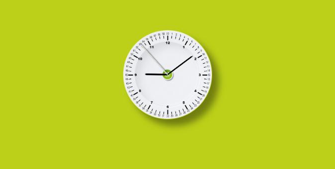css3时钟制作圆形时钟代码
