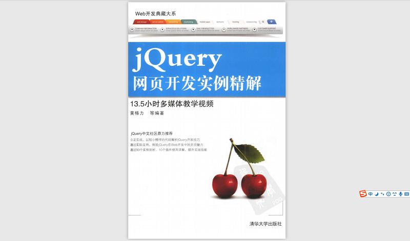 Web开发典藏大系:jQuery网页开发实例精解
