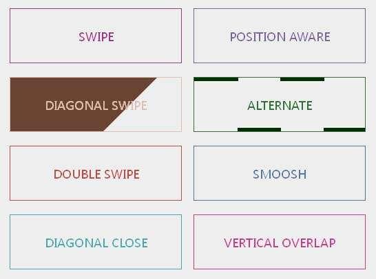 纯CSS3鼠标经过按钮背景填充动画特效