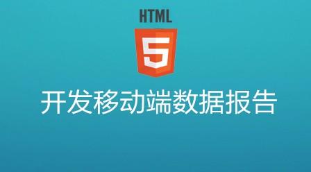 html5开发移动端数据报告