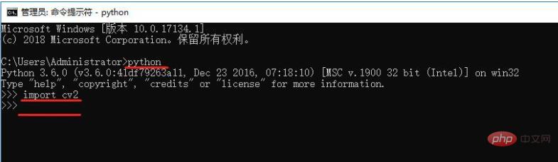 python学习_python怎么安装opencv