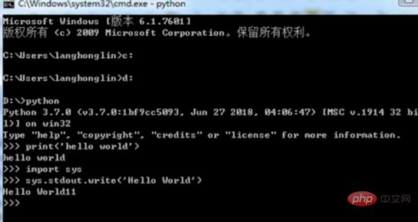 python学习_安装python后怎么用