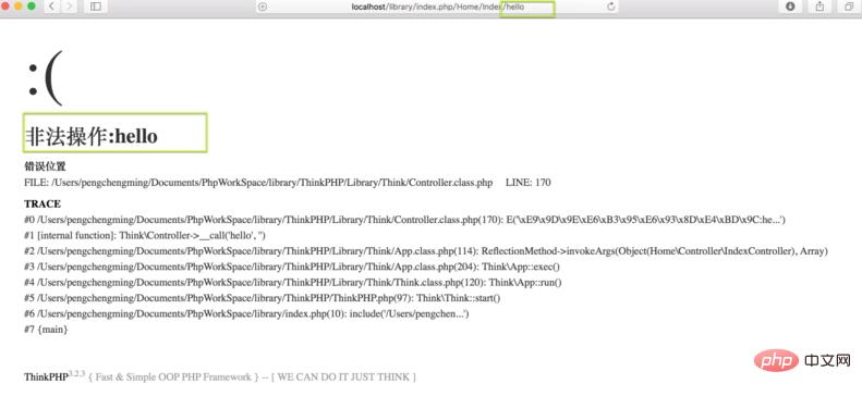 关于ThinkPHP空操纵、空控制器处置惩罚_PHP开发框架教程