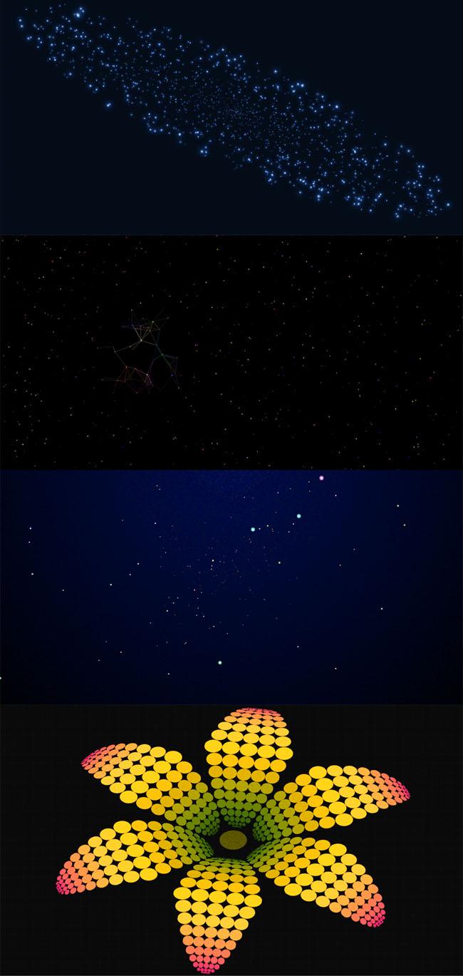 7款HTML5 Canvas全屏背景动画特效