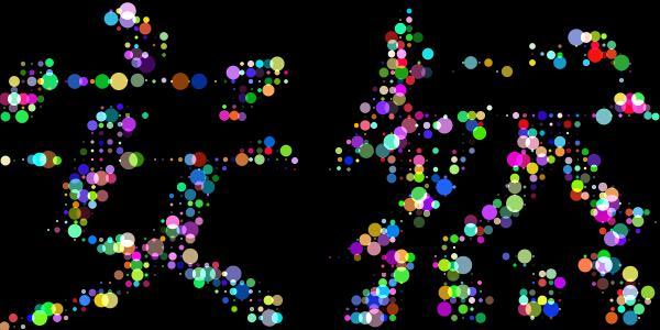 html5粒子效果浪漫表白的粒子文字動畫特效