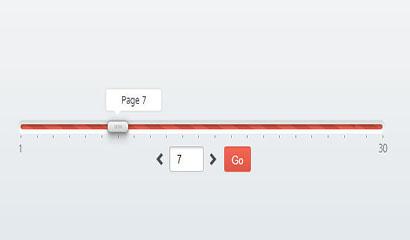 jQuery可拖动分页插件