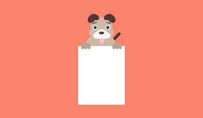 CSS3實現可愛害羞的小狗特效