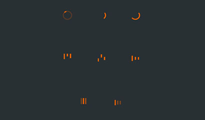 CSS3 SVG網頁加載圖標動畫特效