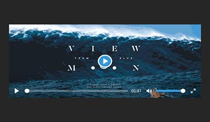 HTML5视频播放器美化插件