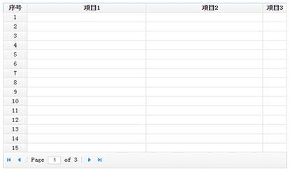 jQuery不刷新分页动态数据表格代码