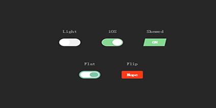 5个漂亮的css3单选按钮美化动画代码