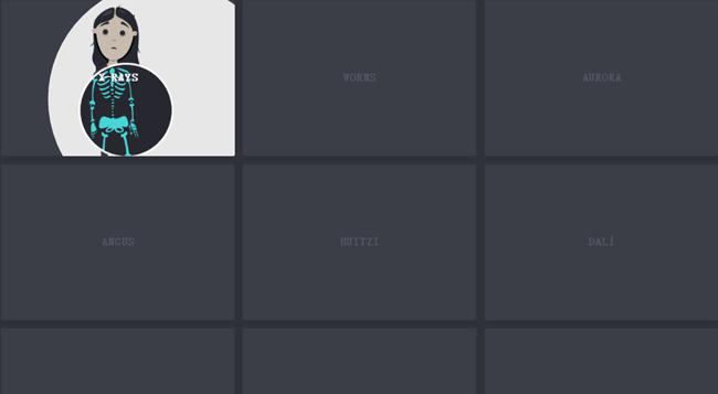 SVG圖片剪輯路徑鼠標懸停效果
