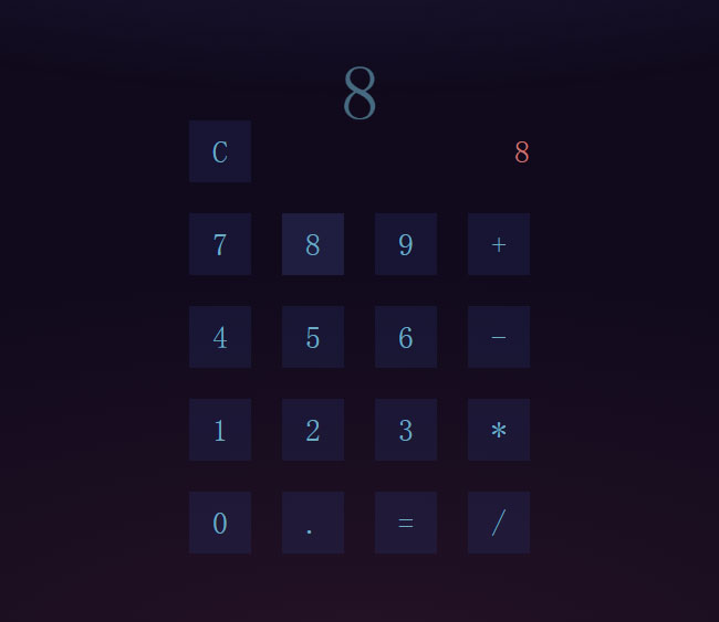 js加减乘除计算器代码